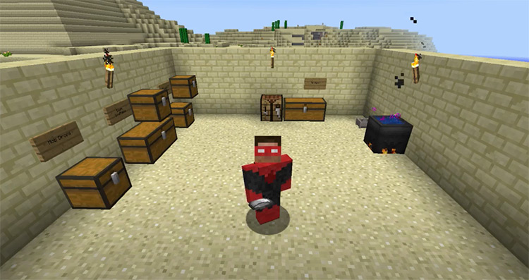 Reliquary Minecraft gameplay screenshot