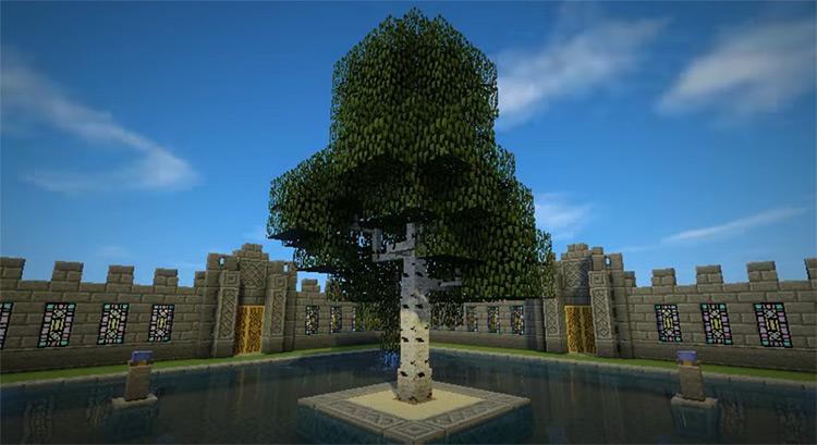 Dynamic Trees Minecraft mod