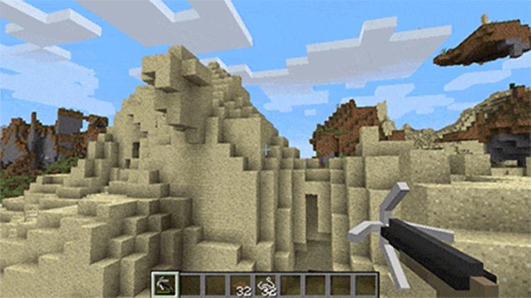 Rope Bridge Minecraft game mod