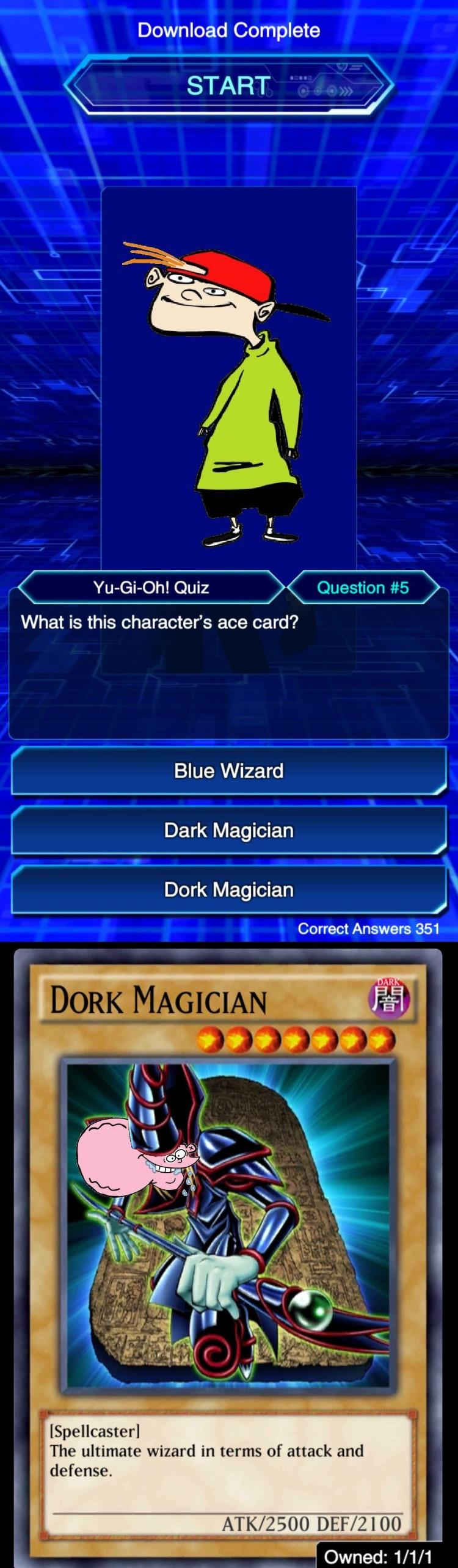 Dork Magician Eddy meme
