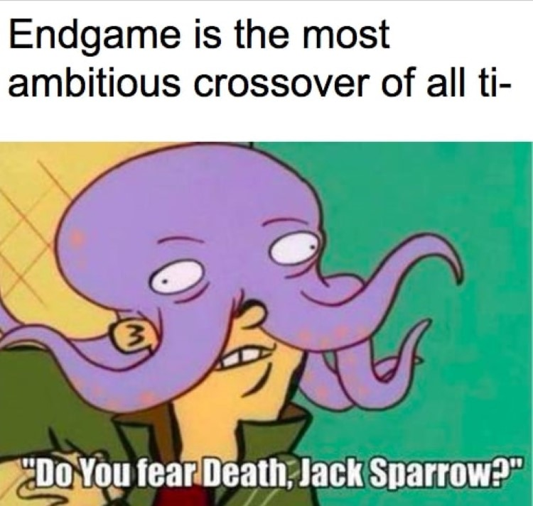 Ed and Octopus, Jack Sparrow meme crossover