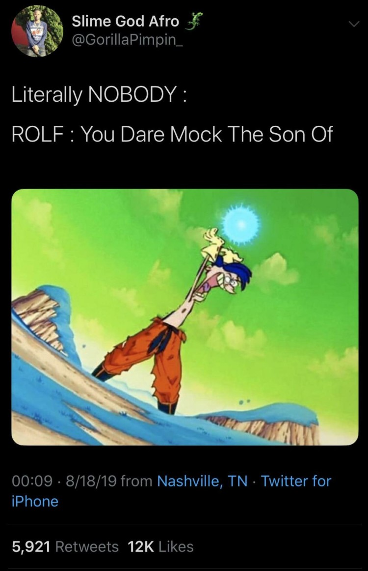 Rolf mocks the son of a shepard