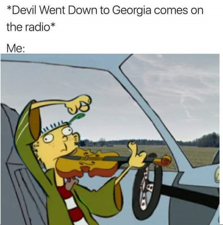 Devil went down to georgia playing violin