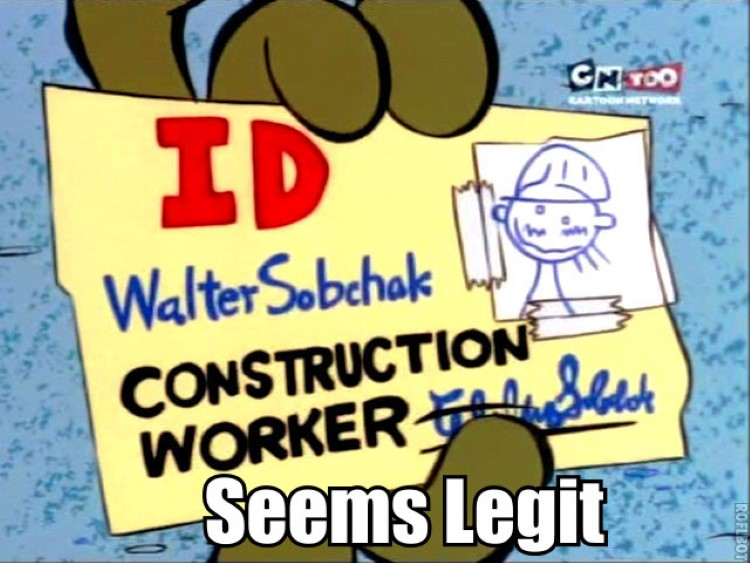 Walter Sobchak, Construction Worker, Double D EEnE