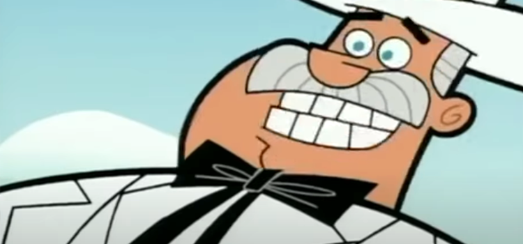 Doug Dimmadome smiling screenshot