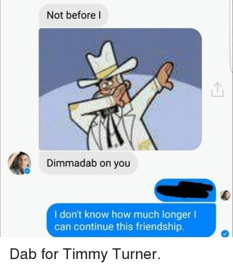 Dab for Doug Dimmadome, a Dimmadab