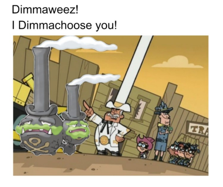 Dimmaweez I dimmachoose you!