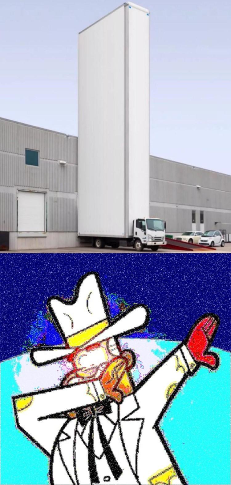 Dimma truck meme