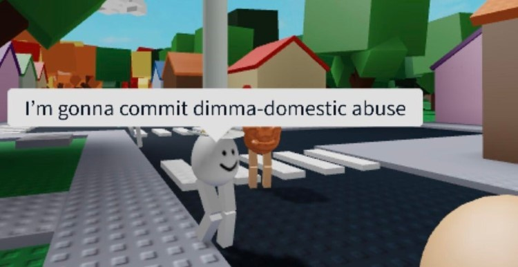 Im gonna commit dimma-domestic abuse meme