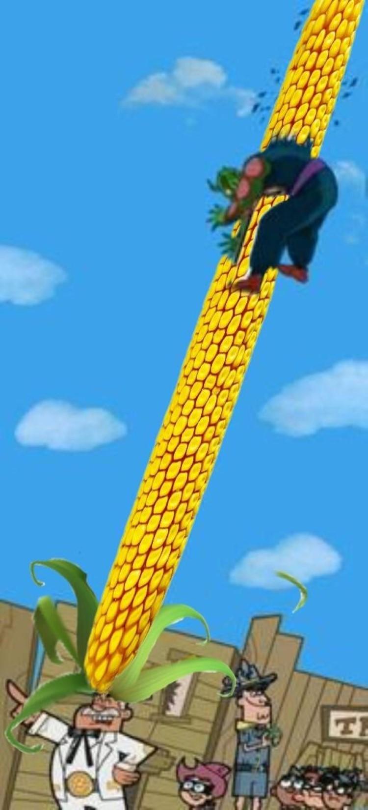 Dimmadome corn meme