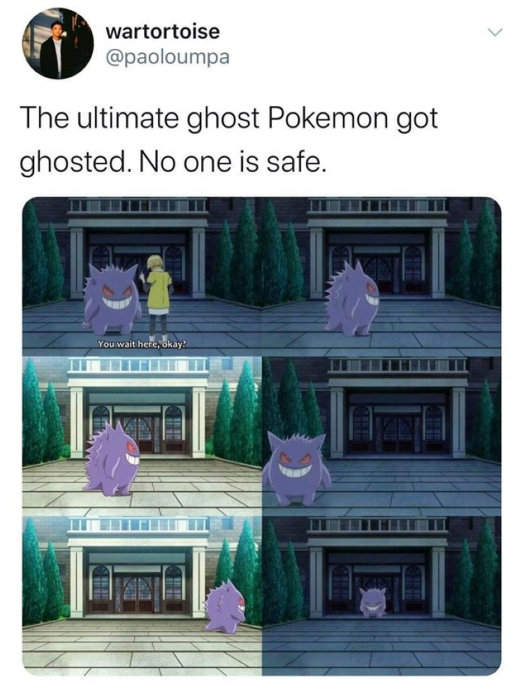 Ultimate ghost Pokemon got ghosted