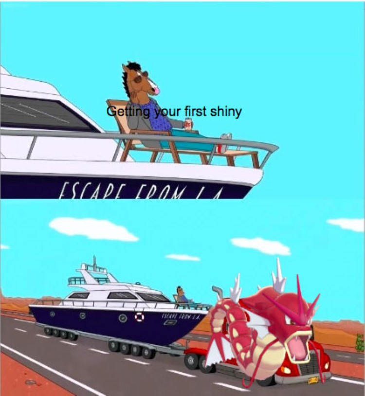 Getting your first shiny Gyarados