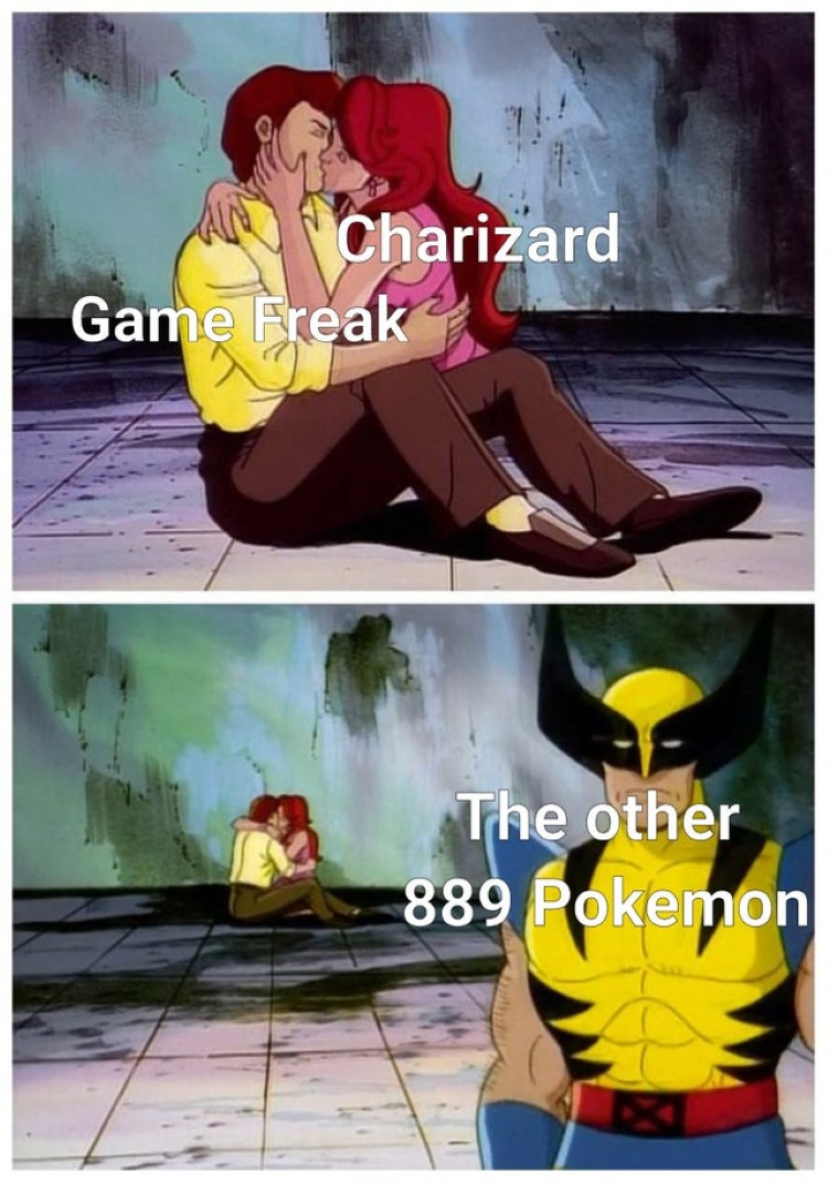 Charizard and GameFreak in love
