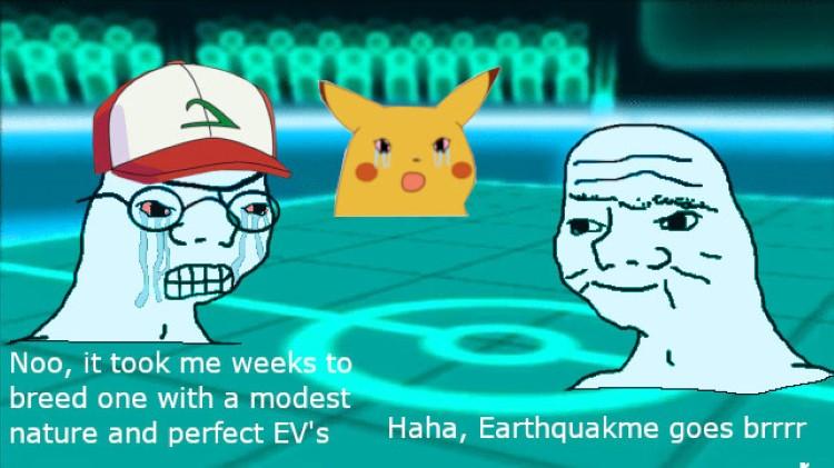Earthquake meme goes brrrr