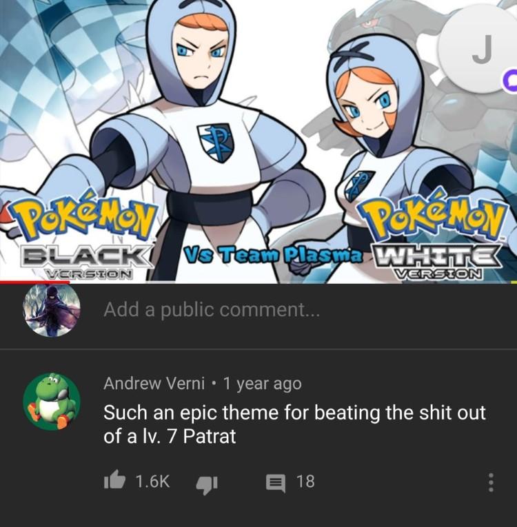 Team Plasma Pokemon meme