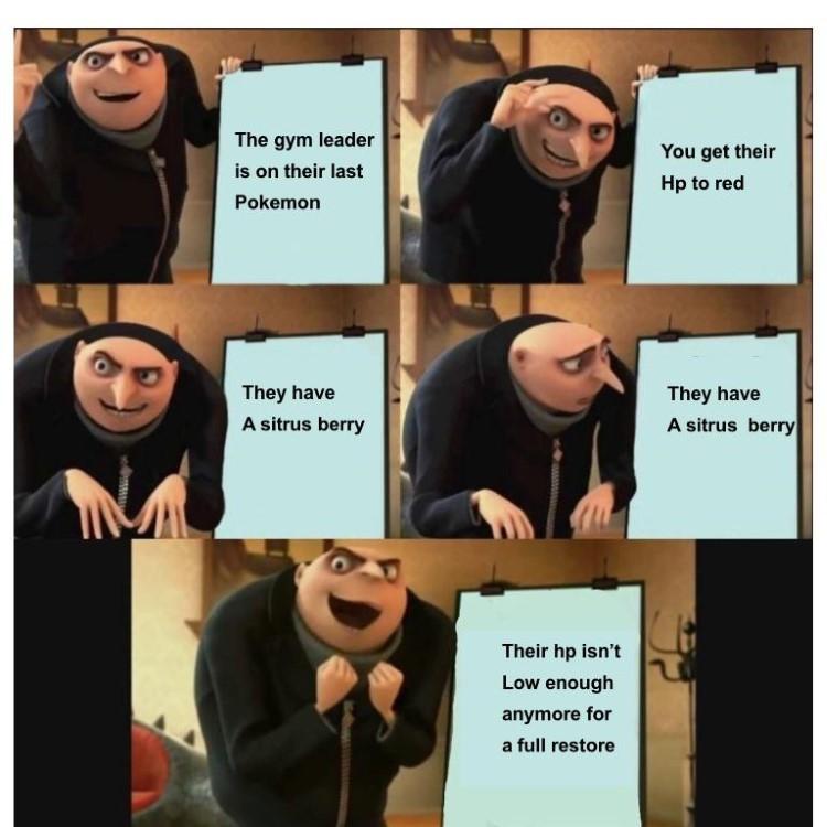 HP isnt low enough for full restore meme