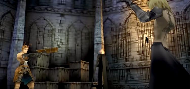 Vagrant Story PSX gameplay screenshot