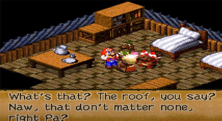 Super Mario RPG snes screenshot
