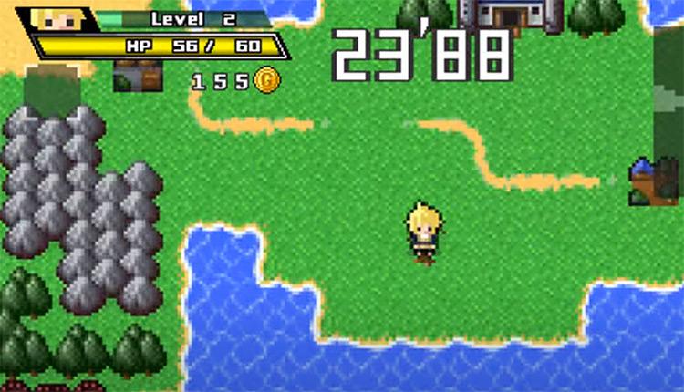 Half-Minute Hero Game Screenshot