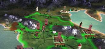 Rome Total War territory bright map