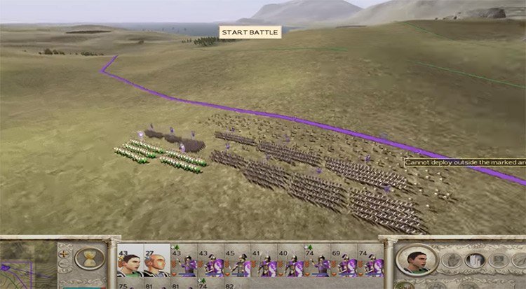 SPQR mod for Total War