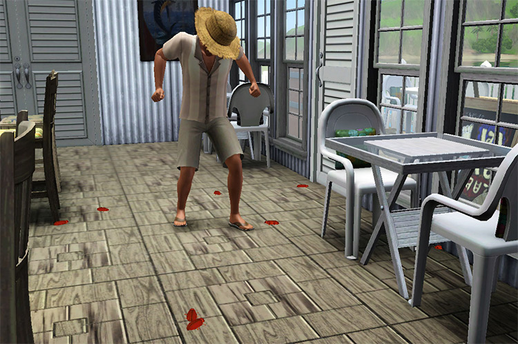 Better Roach Stomp in Sims 2