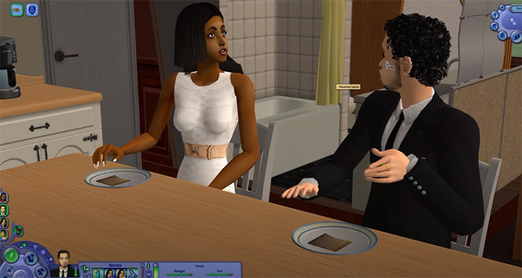 Just Be Friends in Sims2