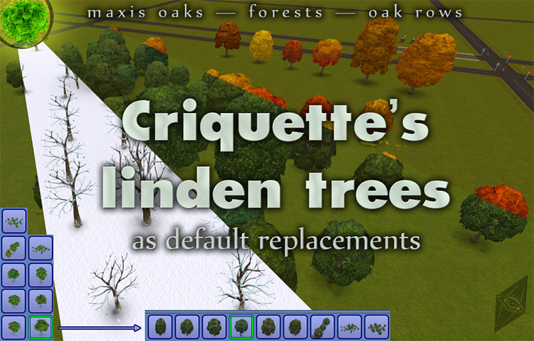 Criquettes Linden Trees modded