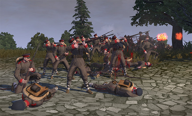 Great War mod Napoleon Totalwar
