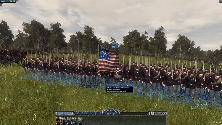 American Civil War game mod preview