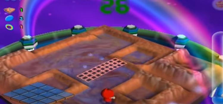 Aqua Aqua gameplay on PS2