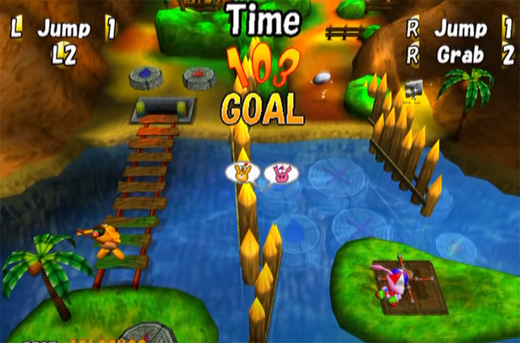 Adventures of Cookie & Cream screenshot on PlayStation 2