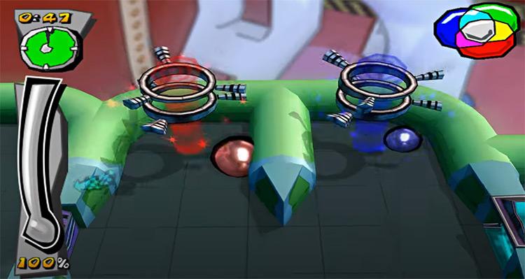 Mercury Meltdown Remix PS2 screenshot