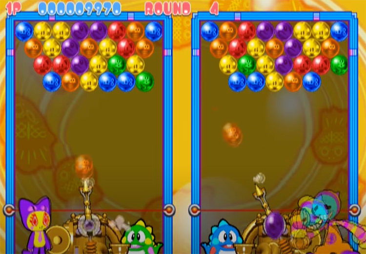 Super Bust-A-Move 2 gameplay