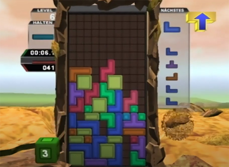 Tetris Worlds gameplay PS2