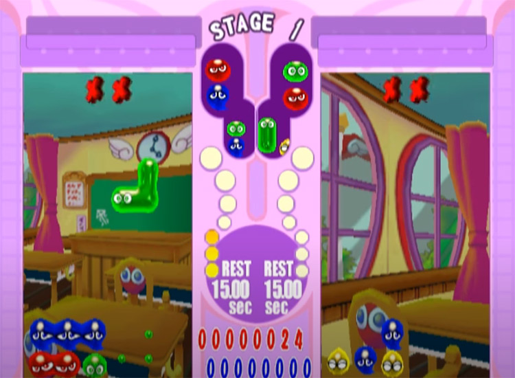 Puyo Pop Fever on PlayStation2