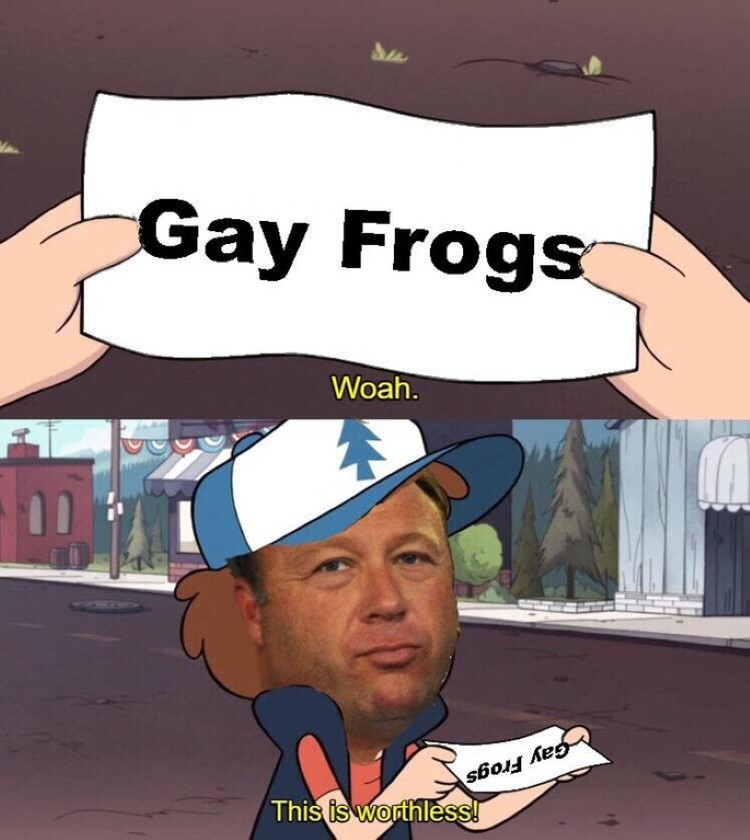 Alex Jones Dipper this is worthless