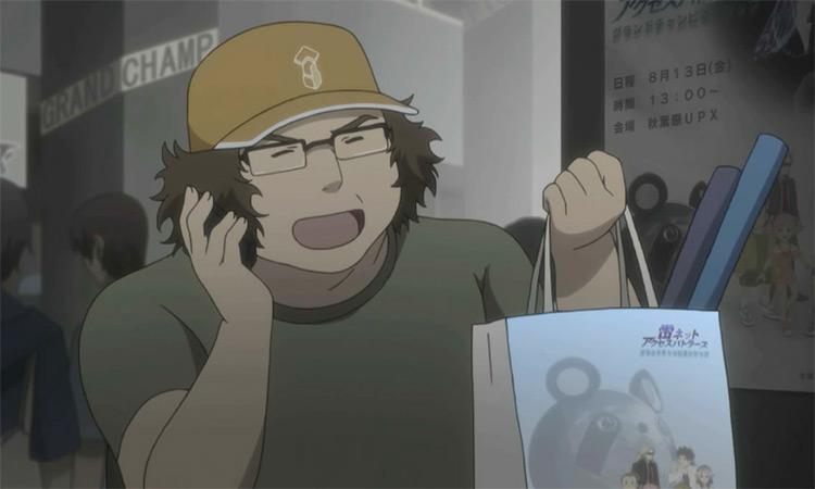 Hashida Itaru in Steins;Gate anime