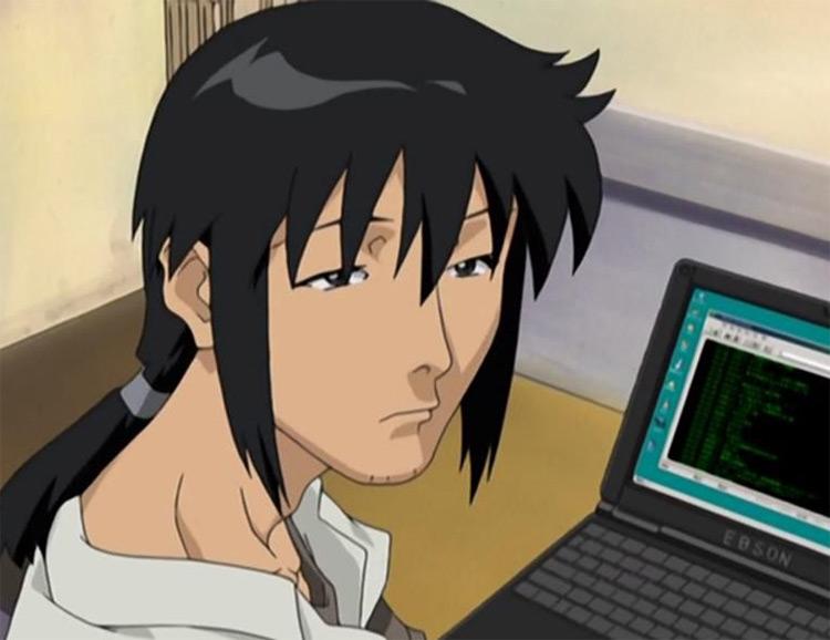 Akira Shirase in Battle Programmer Shirase anime