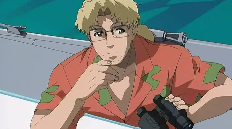 Benny in Black Lagoon anime