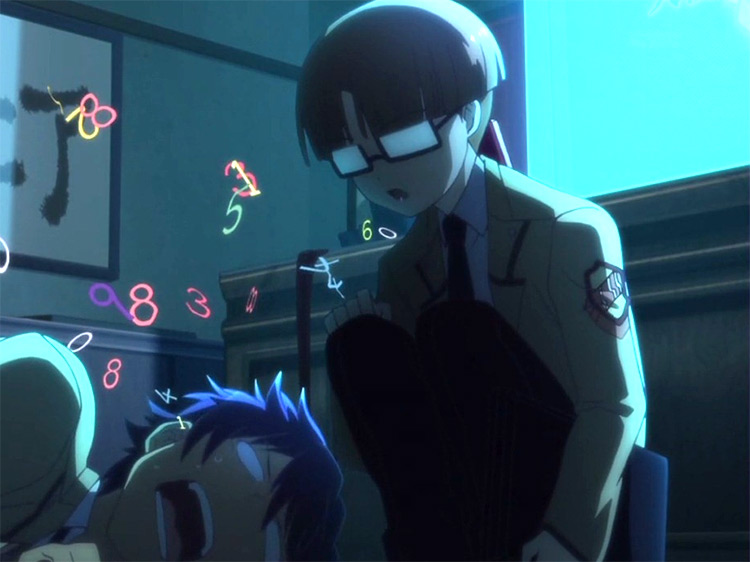 Takeyama in Angel Beats! anime