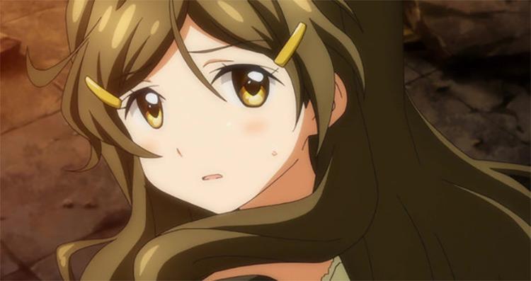 Shinomiya Himawari in Vivid Red Operation anime