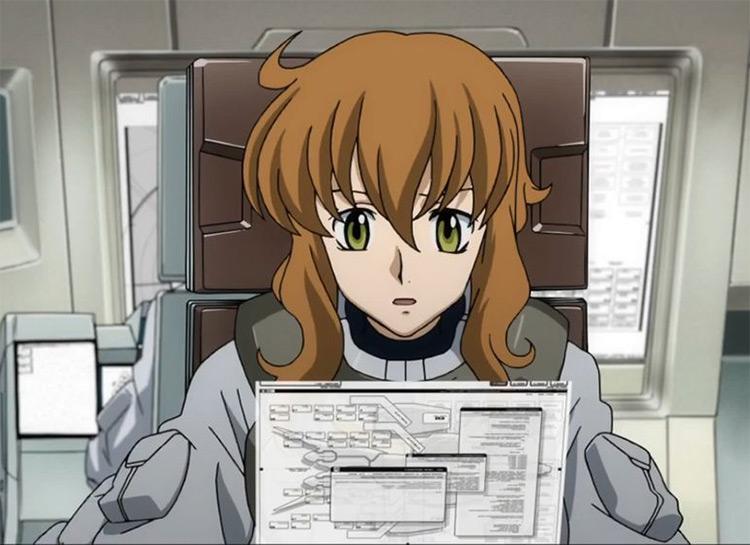 Christina Sierra in Gundam 00 series anime