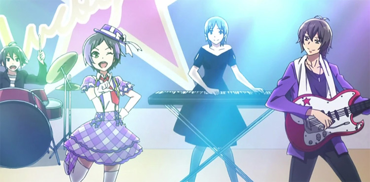 Prism Rhythm: Rainbow Live Idol Anime
