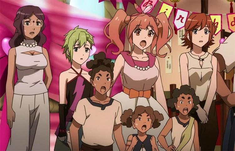 Macross Delta Idol Anime