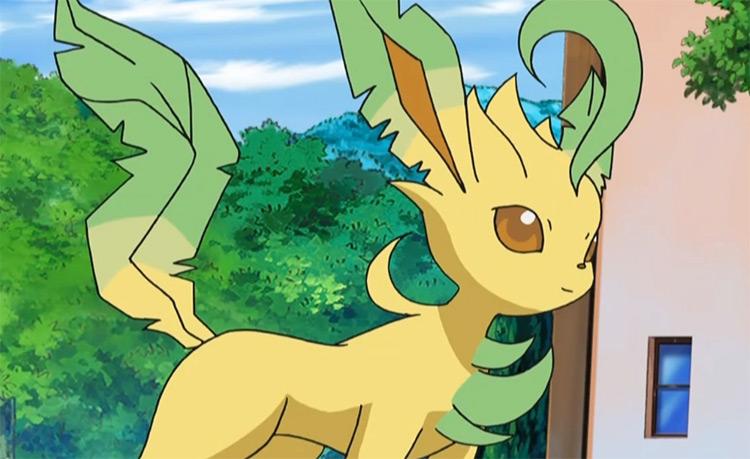 Leafeon Eevee grass type Pokemon