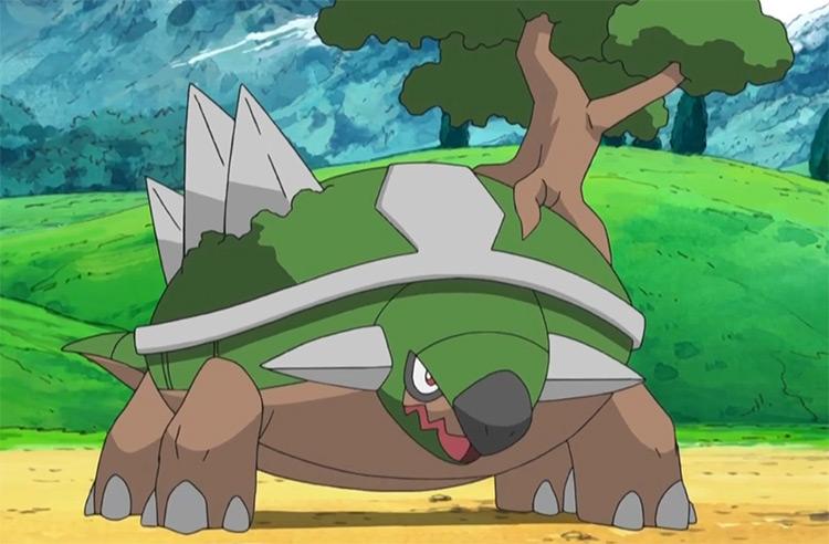 Torterra Grass Tortoise Pokemon anime