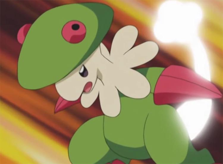 Breloom Grass mid-level starter Pokemon in the anime