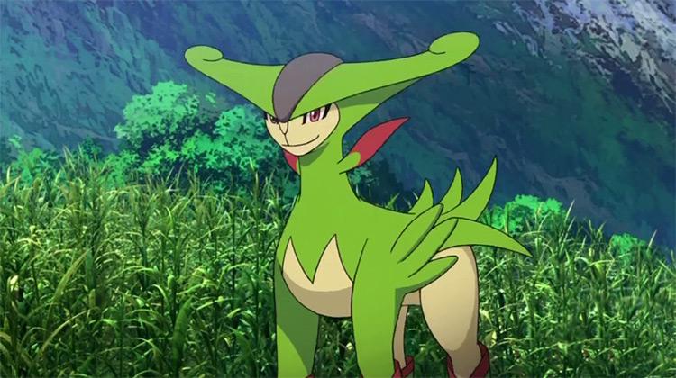 Virizion in Pokemon anime