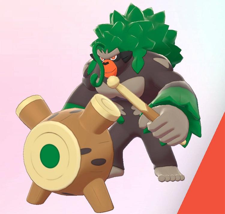 Rillaboom wooden drum Pokemon SwSh